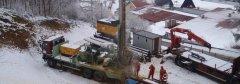 Forage pour une nouvelle ressource en eau sur la commune de Morteau (forage réalisé par Vauthrin-Forages).